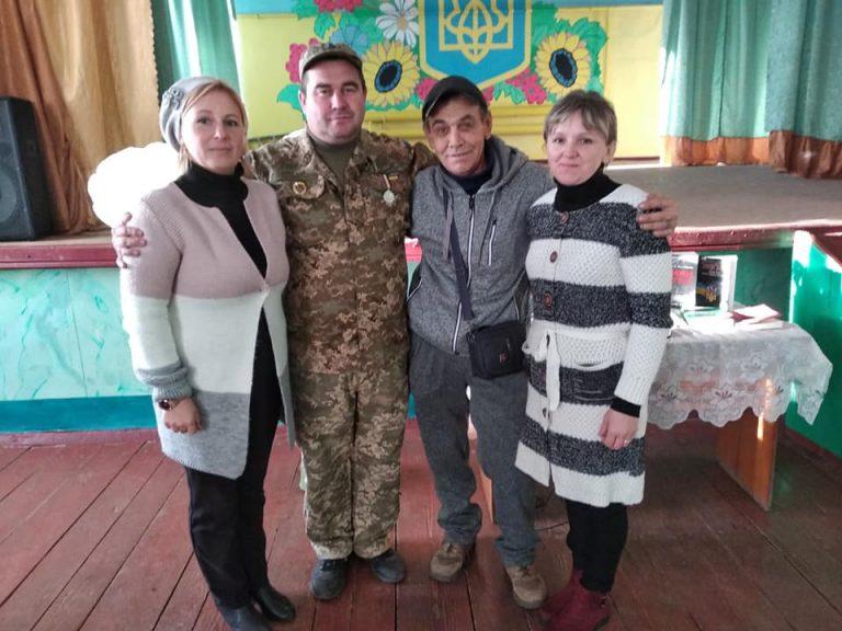 Зустріч з воїнами АТО