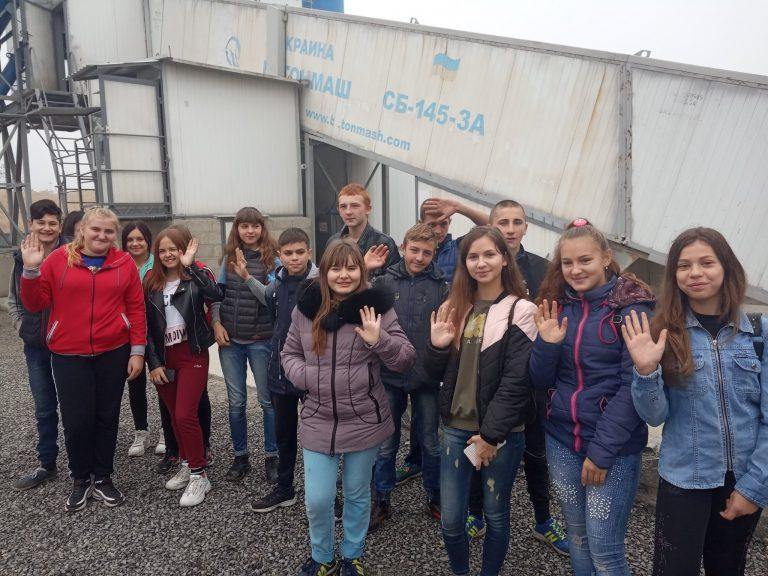 Учні Новобузької ЗОШ № 4 стали учасниками професіографічної екскурсії