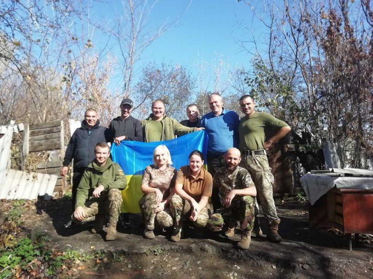 Поїздка представників нашої волонтерської групи до зони ООС