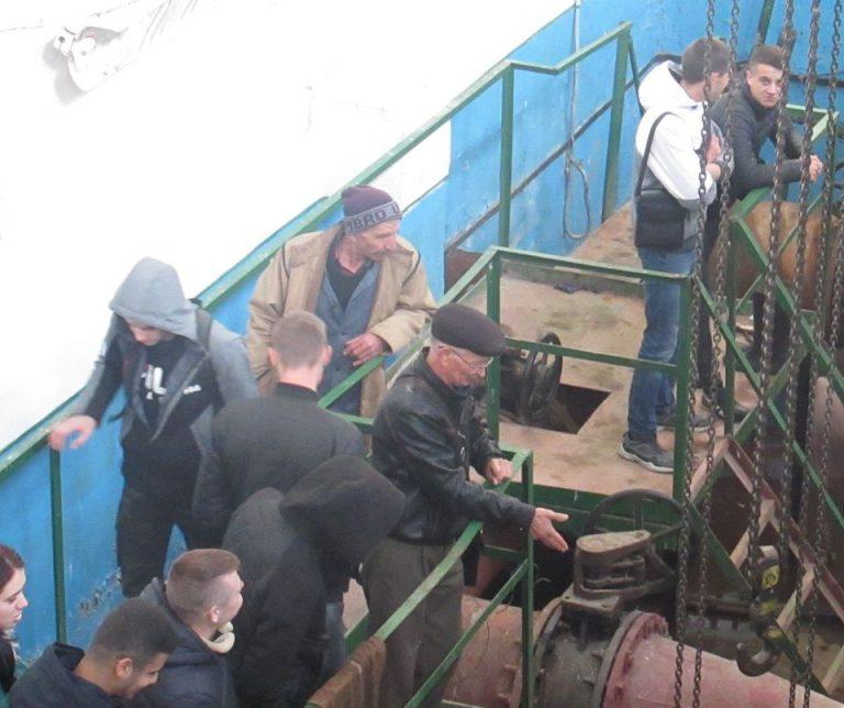 Екскурсія на насосні станції І та ІІ-го підйому Новобузького водопроводу