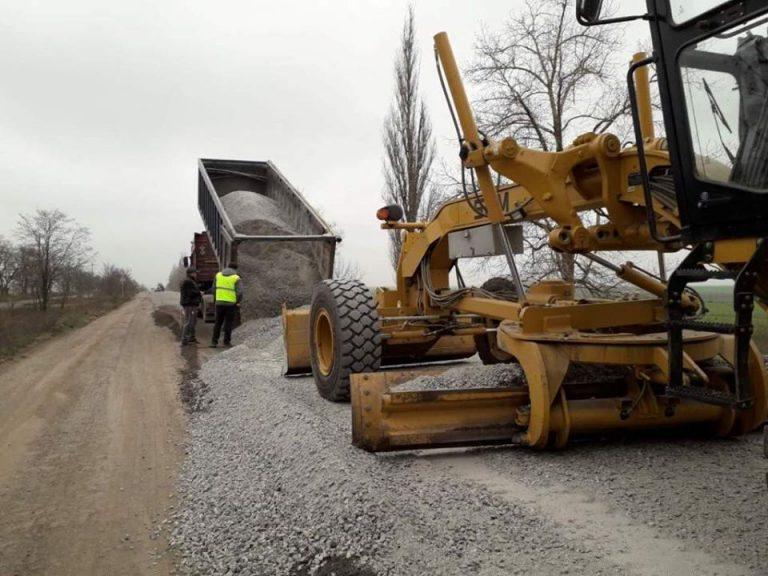 Поточний середній ремонт автошляху Н-11 Дніпро-Миколаїв (через м. Кривий Ріг) у Миколаївській області
