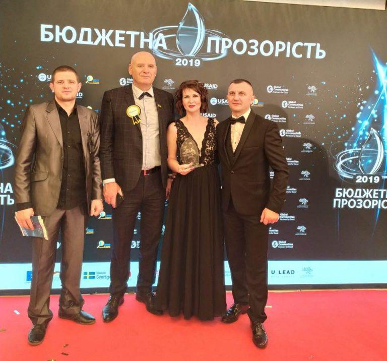Баштанська громада вже вдруге отримала головну  нагороду «Кришталь року – 2019»