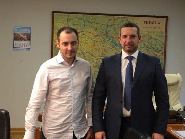 Знайомство з Головою Державного агентства автомобільних доріг України