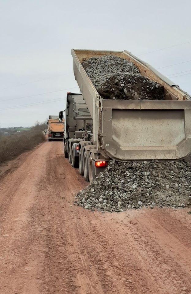 В Казанці ремонтують дороги місцевого значення