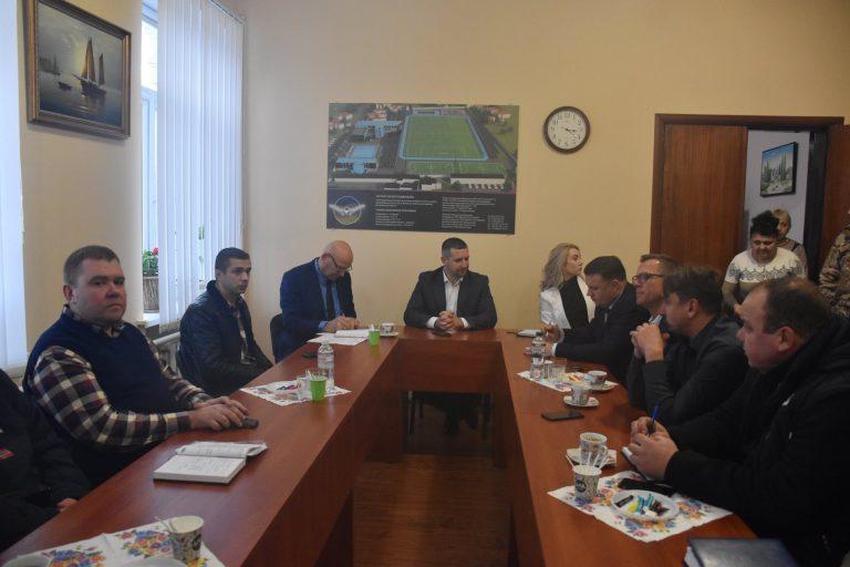 Олександр Стаднік робочим візитом побував у Баштанці