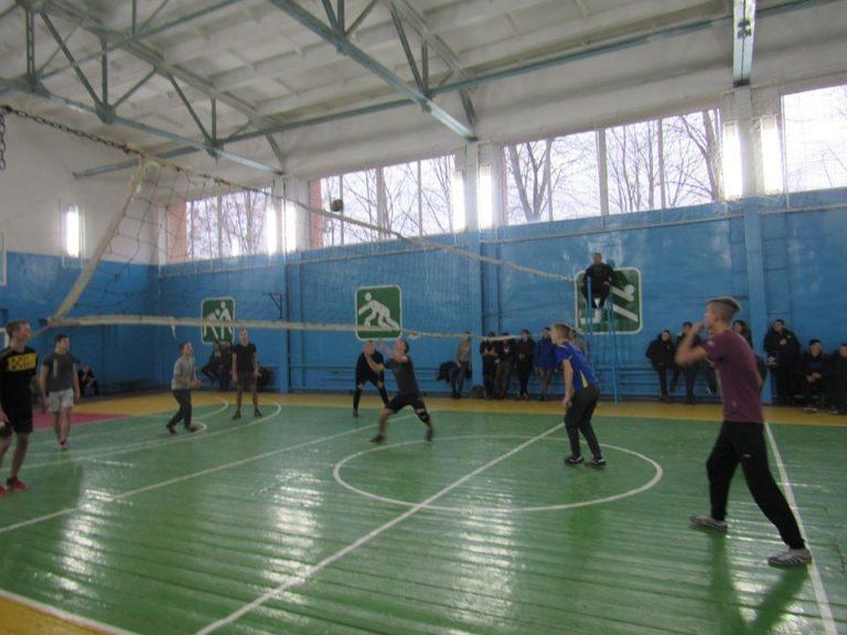 Змагання з волейболу серед студентів