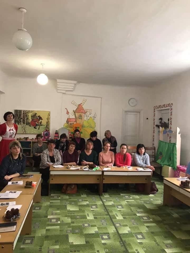 Педагогів закладів дошкільної освіти Новобузького району гостинно зустрів Кам'янський ДНЗ