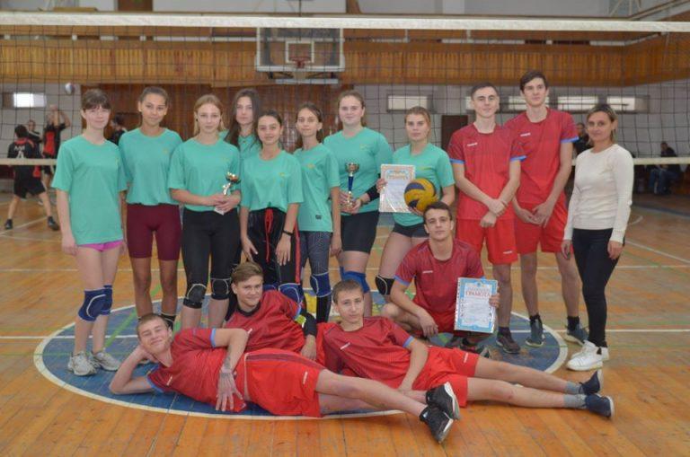 Волейболісти МДЮСШ зайняли перше загальнокомандне місце в обласних змаганнях