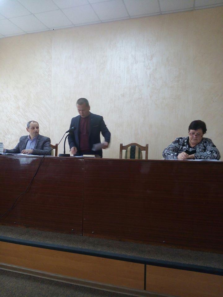 Чергове засідання сесії міської ради