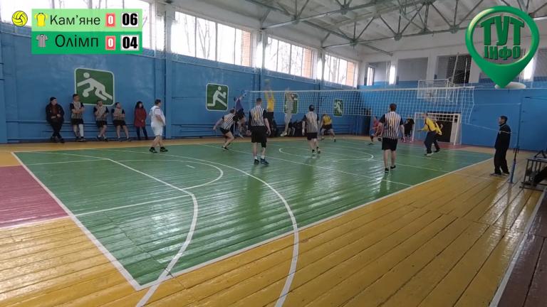 Четвертий тур чемпіонату Новобузького району з волейболу серед чоловіків