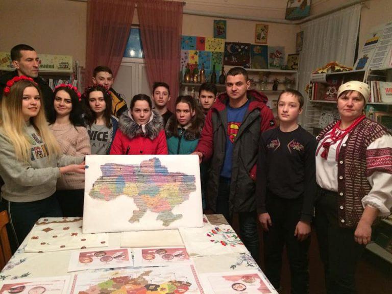 Як відзначали  День Соборності України в Березнегуватському районі