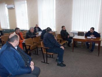 Робоча зустріч з помічником народного депутата Ігора Негулевського Олександром Поліщуком
