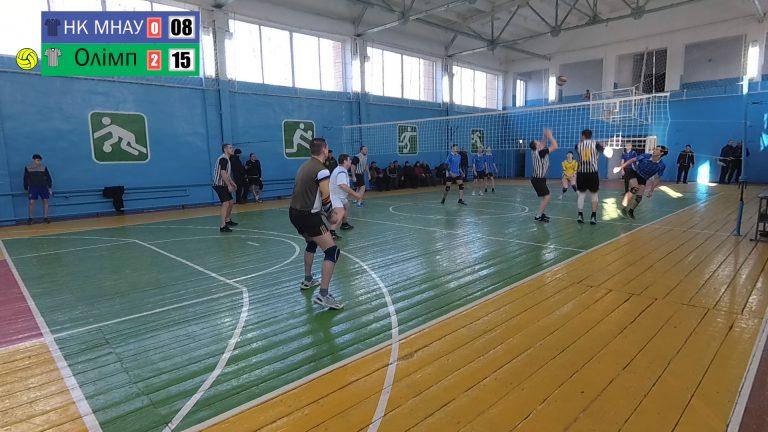 Волейбол. Чемпіонат Новобузького району серед чоловіків 2020. Олімп – Аграрний коледж