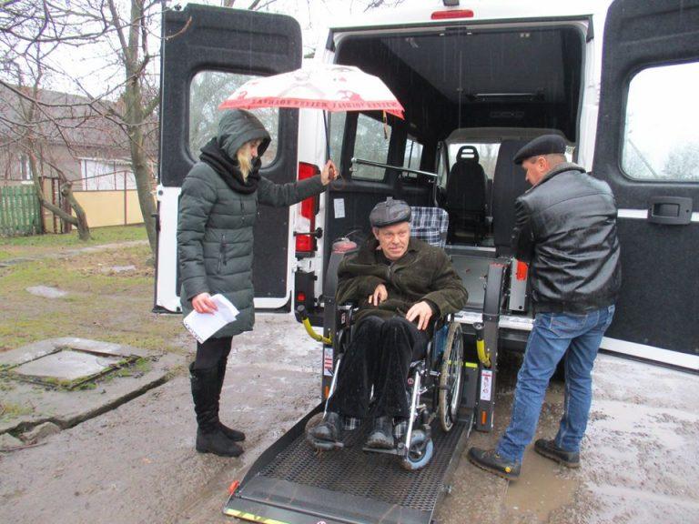 Казанківський автомобіль «Соціального таксі» виїхав на перший виклик