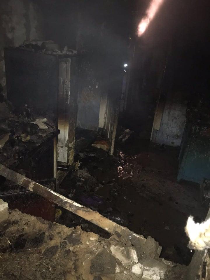 В області зареєстровано 8 пожеж на території приватних домоволодінь