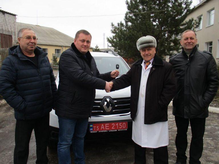 Для Казанківської амбулаторії придбали новеньке авто