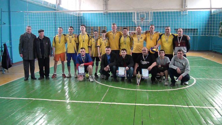 Волейбол. Нагородження переможців