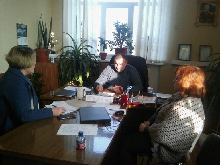 Голова та старости Вільнозапорізької ОТГ обговорювали план соціально-економічного розвитку громади