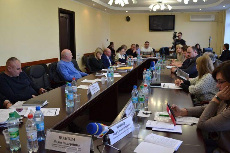 На засіданні Постійної комісії обласної ради постало питання функціонування Новобузької ЗОШ № 1
