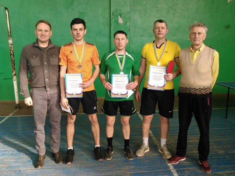 Турнір з настільного тенісу присвячений пам'яті воїна – інтернаціоналіста Ю. Федченка