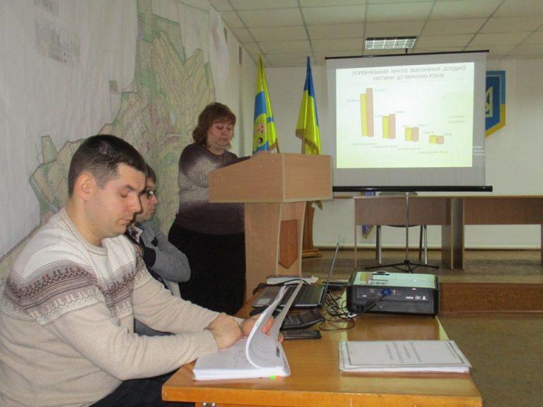 Відбулось публічне представлення звіту  про виконання бюджету за 2019 рік Казанківської селищної ради