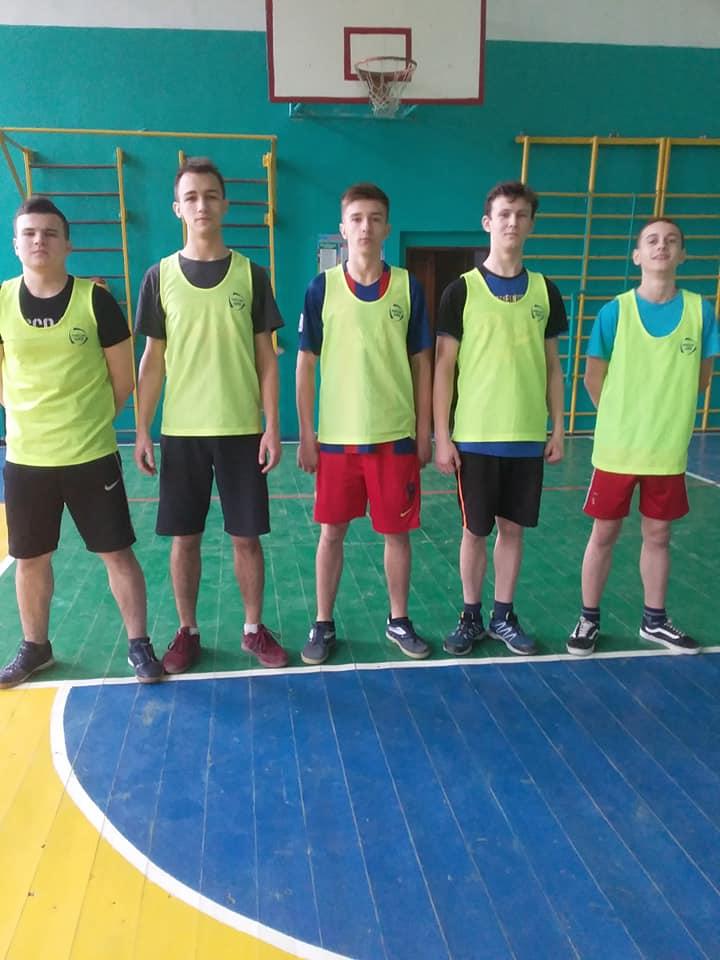 Районні змагання з баскетболу серед команд юнаків і дівчат
