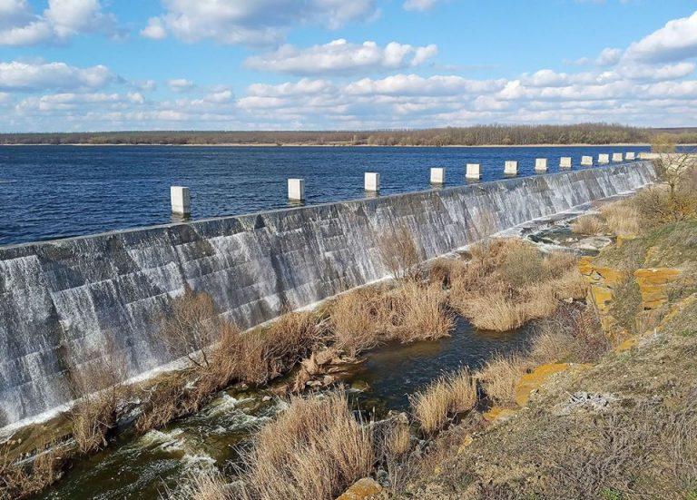 Софіївське водосховище після ремонту наповнилося водою