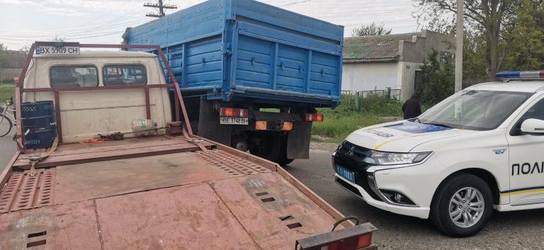 На перехресті траси Н11 та Церковного провулку в Новому Бузі зіткнулися вантажівки