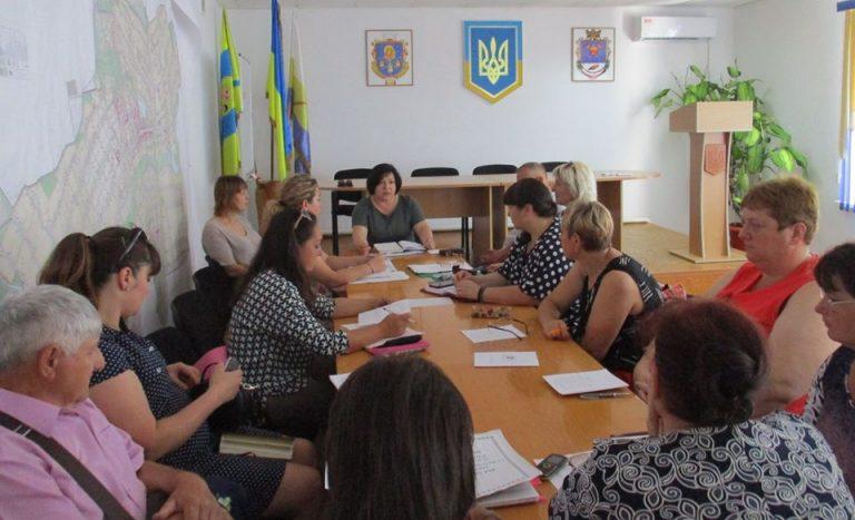 Начальник відділу культури та туризму Алла Косталан провела нараду з керівниками сільських закладів культури