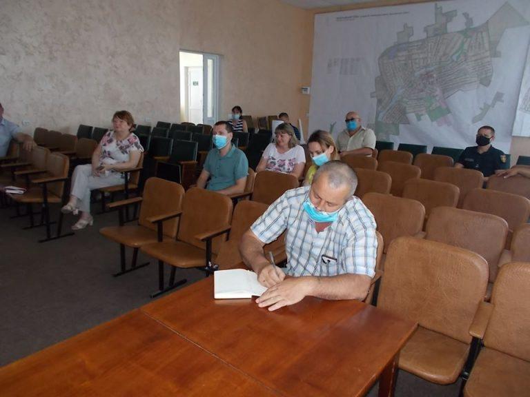 Засідання комісії з питань ТЕБ та НС за участі заступника голови райдержадміністрації М.Петраковського