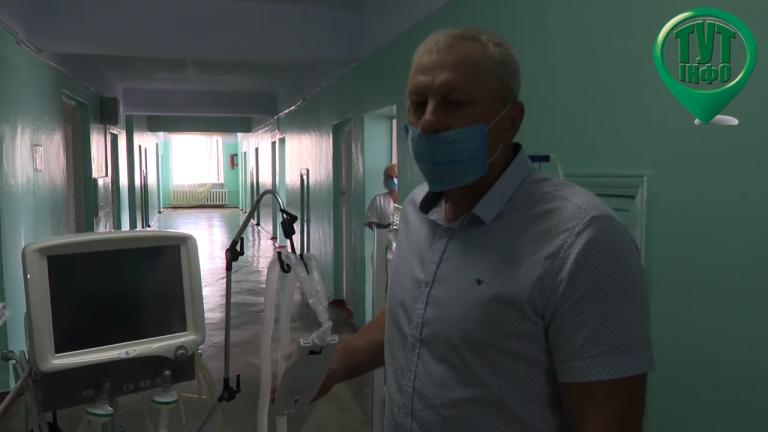 Для Новобузької лікарні коштом людей придбано аппарат ШВЛ