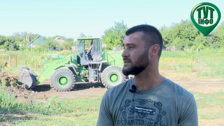 Софіївський гранітний кар'єр прийняв участь у будівництві дитячого майданчика