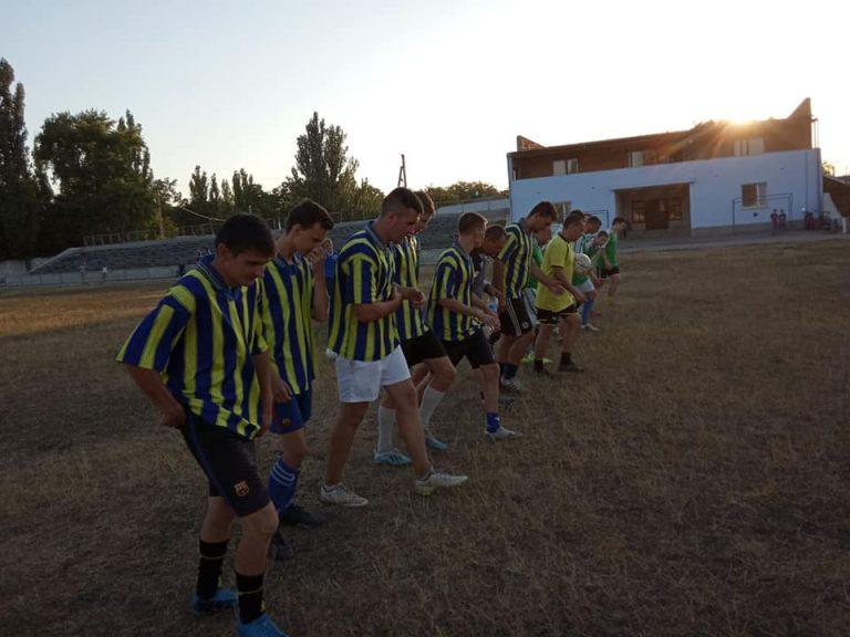 Стартував чемпіонат міста Новий Буг з футболу за системою 1+7
