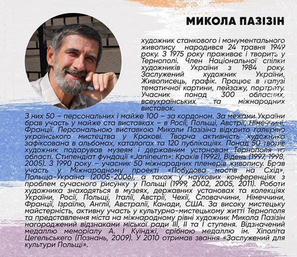 Етюд шостий – Микола Пазізін