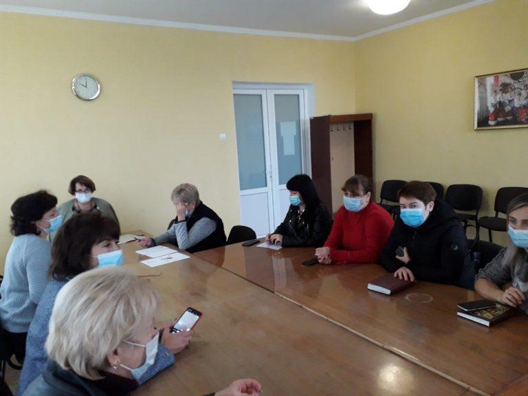 Засідання комісії з питань захисту прав дитини при Новобузькій райдержадміністрації