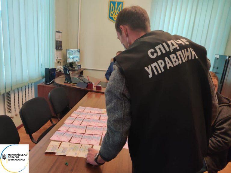 На Миколаївщині підприємець пропонував 10 тис грн начальнику райвідділу за непритягнення його до відповідальності за порушення карантинних заходів