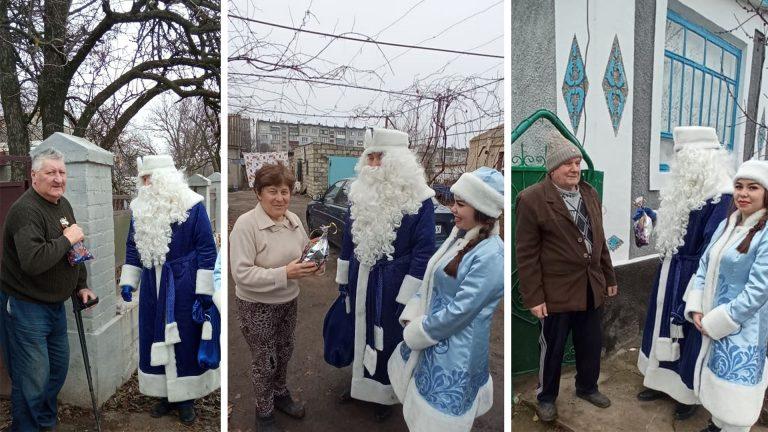 Єланецький професійного аграрний ліцей вітає своїх ветеранів праці з Новорічними святами