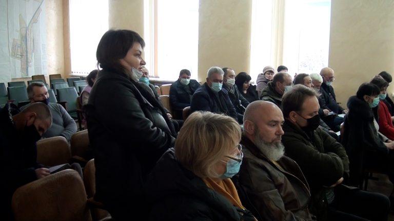 Спільне засідання депутатських комісії міської ради