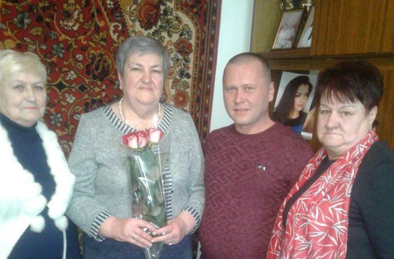75-річний ювілей жительки Нового Бугу Мудрик Світлани Володимирівни