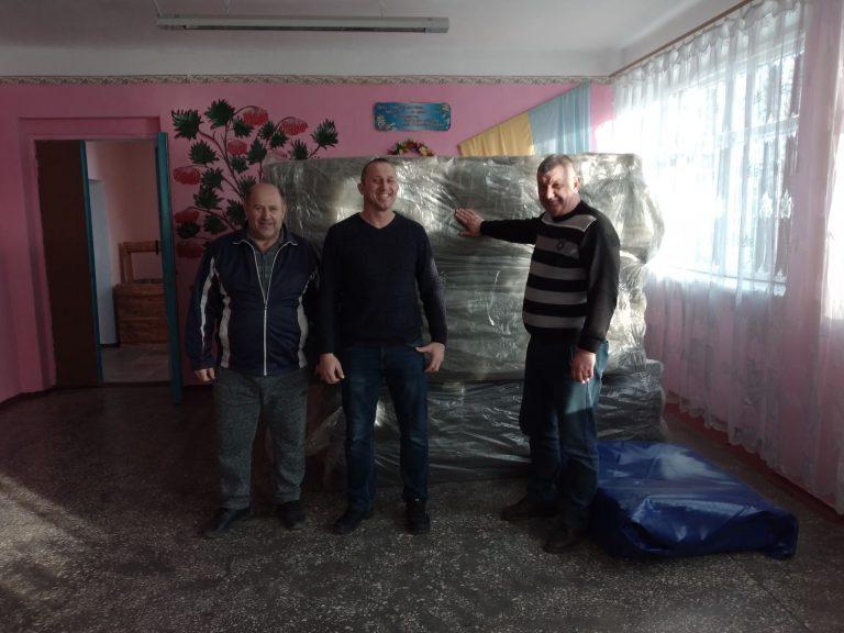 Президент федерації з греко-римської боротьби надав борцівський килим Софіївській громаді
