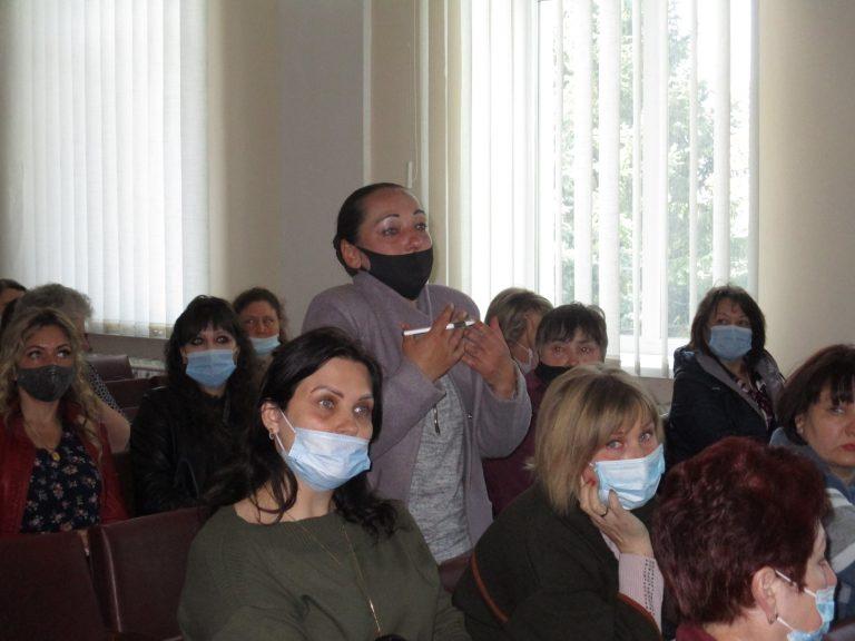 Казанка. Відбулась робоча зустріч щодо організації функціонування закладів освіти громади у новому навчальному році